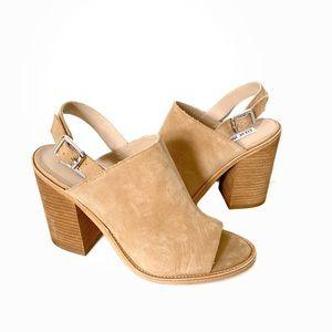 Steve Madden | Lanto Suede Block Heel Sandal